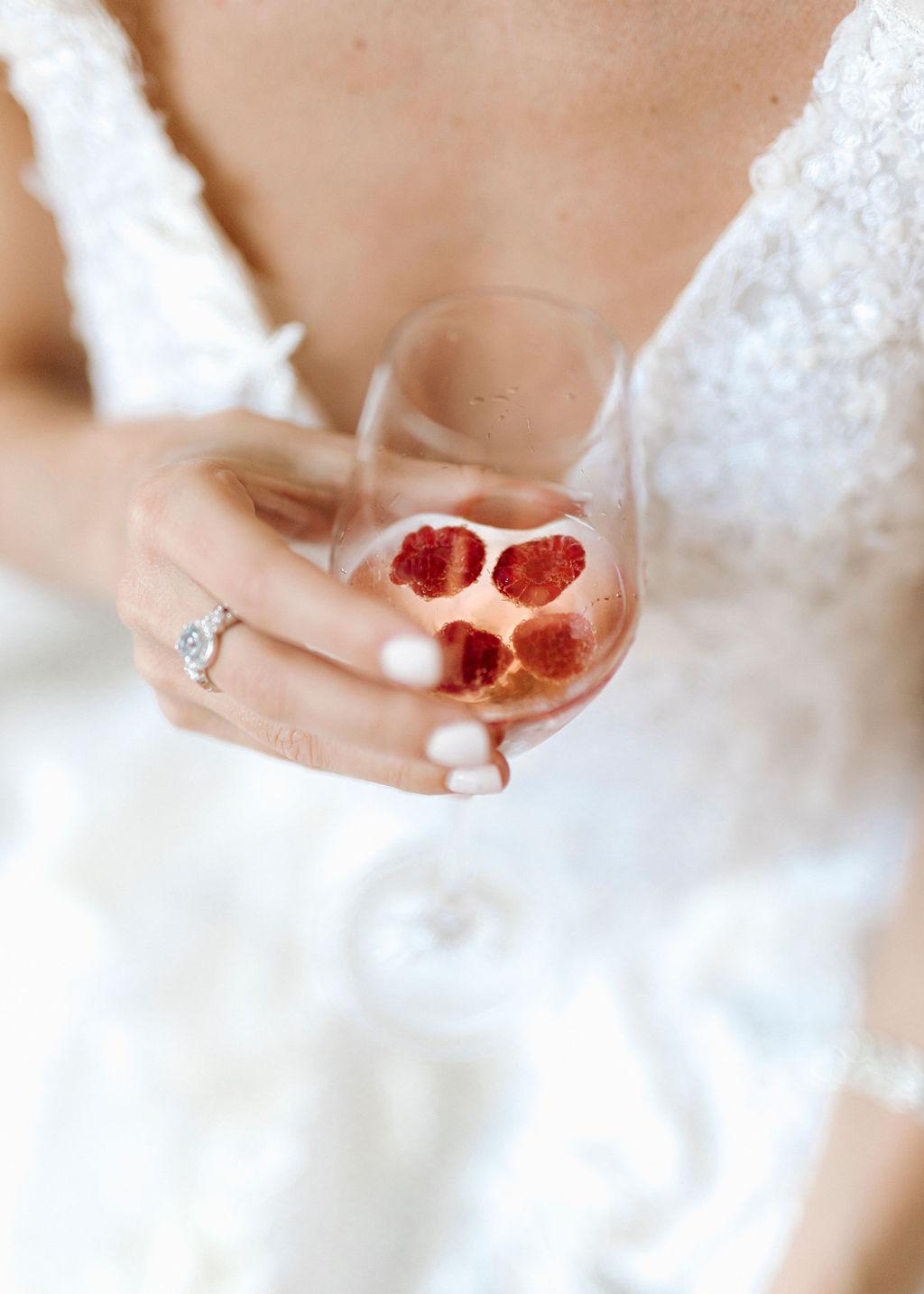 Brautkleid Beratungstermin Sekt