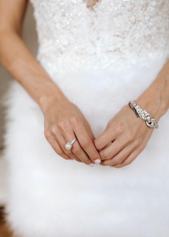 Braut Partykleid kurz mit Federn